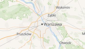 Warszawa - szczegółowa mapa Google