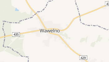 Wawelno - szczegółowa mapa Google