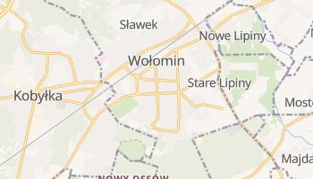 Wołomin - szczegółowa mapa Google