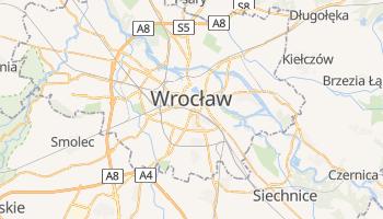 Wrocław - szczegółowa mapa Google
