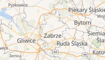 Zabrze - szczegółowa mapa Google