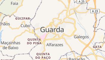 Guarda - szczegółowa mapa Google