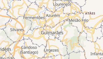 Guimarães - szczegółowa mapa Google