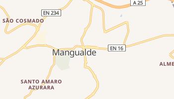 Mangualde - szczegółowa mapa Google