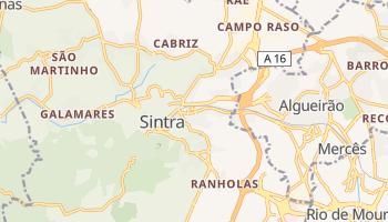 Sintra - szczegółowa mapa Google