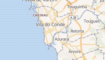 Vila do Conde - szczegółowa mapa Google