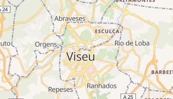 Viseu - szczegółowa mapa Google