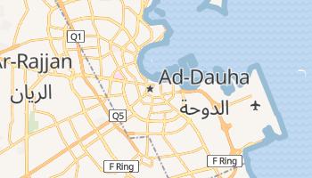 Ad-Dauha - szczegółowa mapa Google
