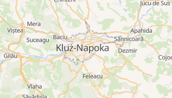 Kluż-Napoka - szczegółowa mapa Google
