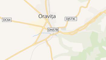 Oraviţa - szczegółowa mapa Google