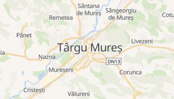 Târgu Mureş - szczegółowa mapa Google