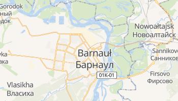 Barnauł - szczegółowa mapa Google