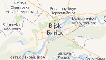 Bijsk - szczegółowa mapa Google