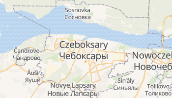 Czeboksary - szczegółowa mapa Google