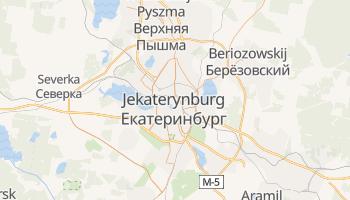 Jekaterynburg - szczegółowa mapa Google