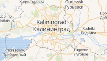 Kaliningrad - szczegółowa mapa Google