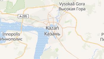 Kazań - szczegółowa mapa Google