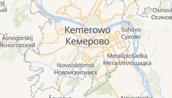 Kemerowo - szczegółowa mapa Google