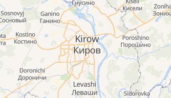 Kirow - szczegółowa mapa Google