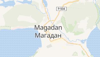 Magadan - szczegółowa mapa Google