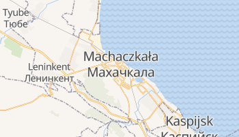 Machaczkała - szczegółowa mapa Google