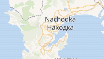 Nachodka - szczegółowa mapa Google