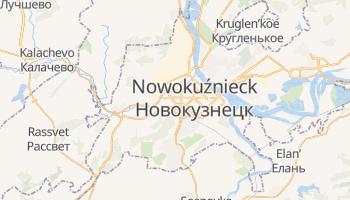 Nowokuźnieck - szczegółowa mapa Google