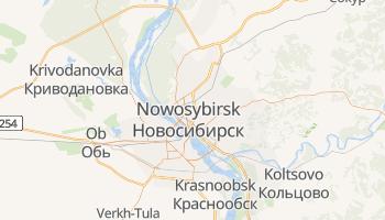 Nowosybirsk - szczegółowa mapa Google