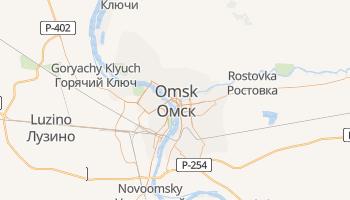 Omsk - szczegółowa mapa Google