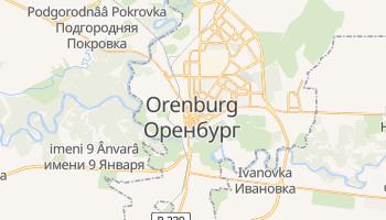 Orenburg - szczegółowa mapa Google