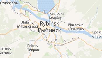 Rybińsk - szczegółowa mapa Google
