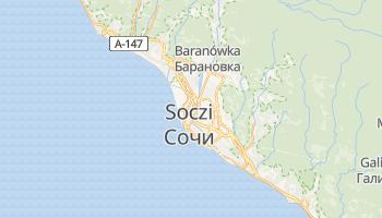 Soczi - szczegółowa mapa Google