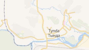 Tynda - szczegółowa mapa Google