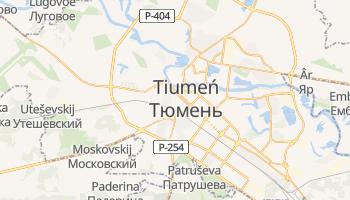 Tiumeń - szczegółowa mapa Google