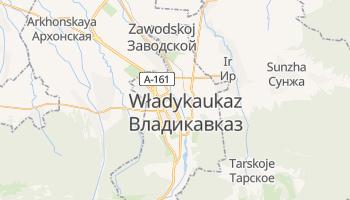 Władykaukaz - szczegółowa mapa Google