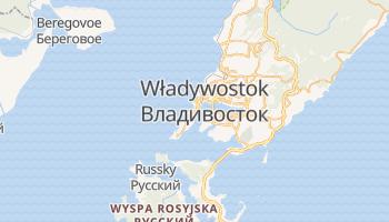 Władywostok - szczegółowa mapa Google