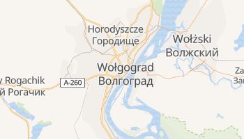 Wołgograd - szczegółowa mapa Google