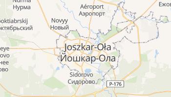 Joszkar-Oła - szczegółowa mapa Google