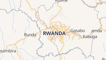 Kigali - szczegółowa mapa Google