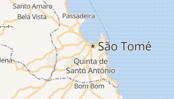 São Tomé - szczegółowa mapa Google