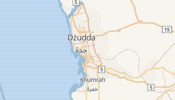 Dżudda - szczegółowa mapa Google
