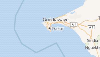 Dakar - szczegółowa mapa Google