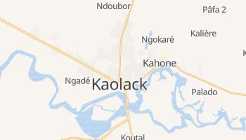 Kaolack - szczegółowa mapa Google