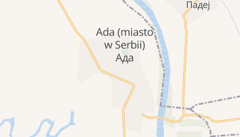 Ada - szczegółowa mapa Google