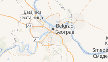 Belgrad - szczegółowa mapa Google