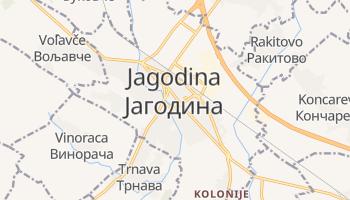 Jagodina - szczegółowa mapa Google