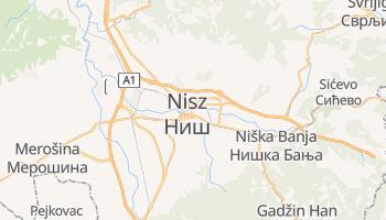 Nisz - szczegółowa mapa Google