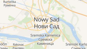 Nowy Sad - szczegółowa mapa Google