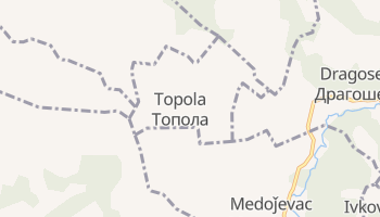 Gmina Topola - szczegółowa mapa Google