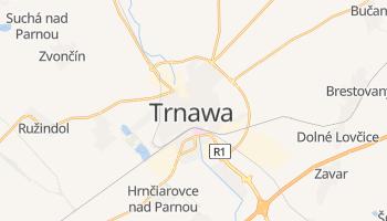 Trnawa - szczegółowa mapa Google